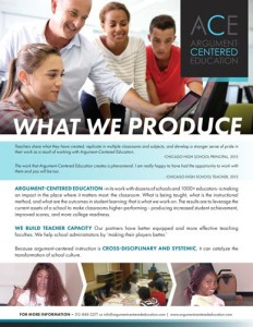 Download our What We Produce PDF