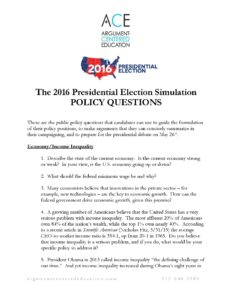 2016PresidentialElectionSimulationPolicyQuestionsImage16.05.05