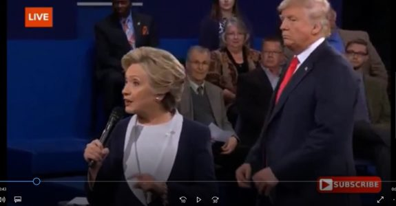 Click here for the issue clip on health care from the second presidential debate.