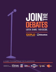 Click here to download the PBS Learning Media curricular resource, Join the Debates.
