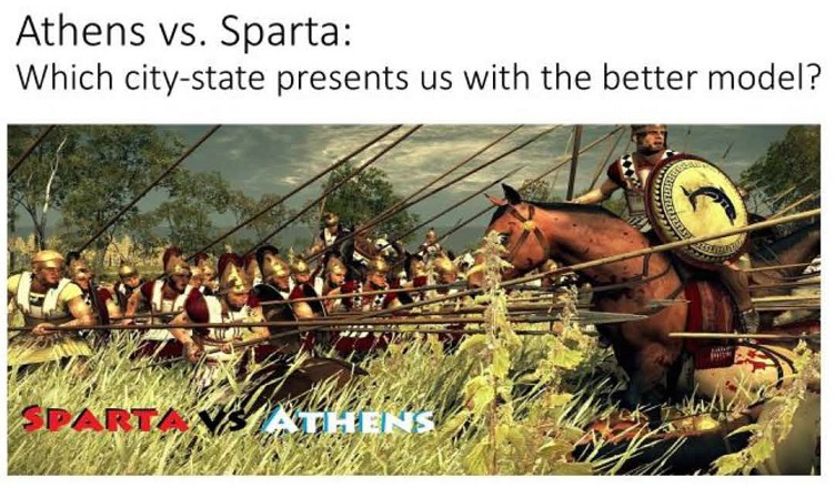 Athens Vs Sparta An Argument Based Project With Documents